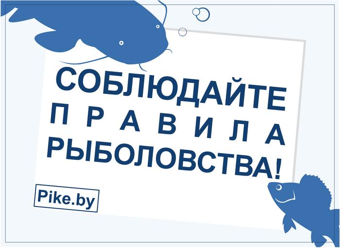 Соблюдайте правила рыболовства
