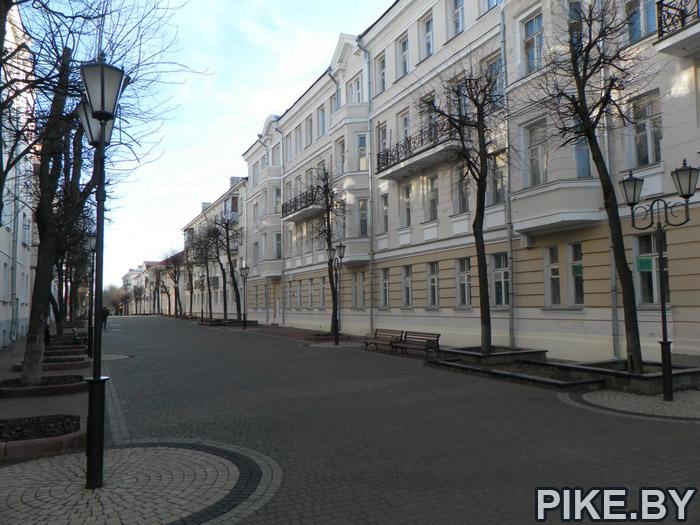 Пешеходная улица Витебск
