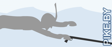 Подводная охота: обучающая инфографика