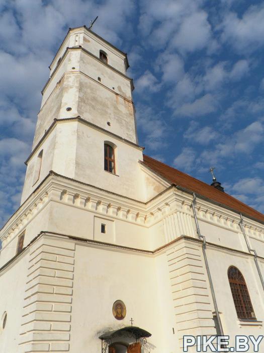 Заславль церковь