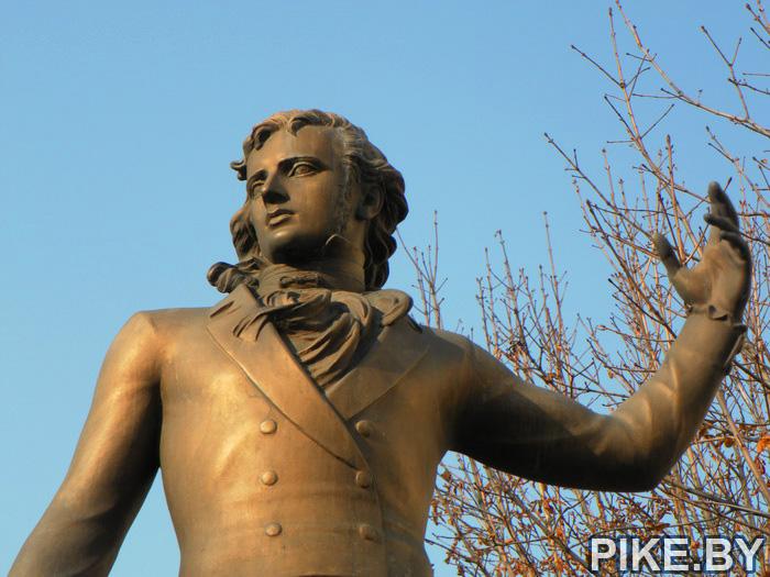 Молоедно памятник Огинскому