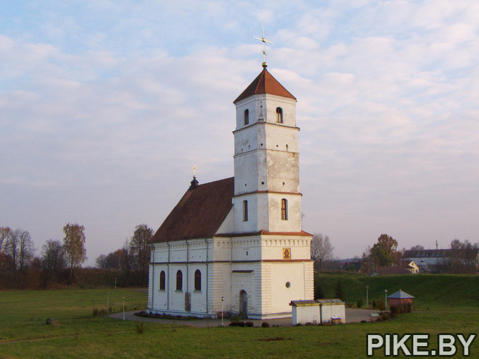 Заславль Спасо-Преображенская церковь