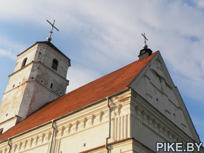 Заславль Преображенская церковь