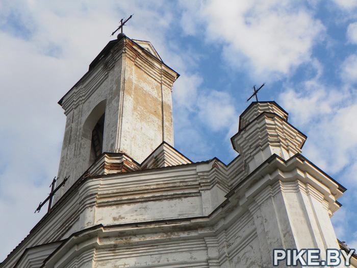 Заславль Костёл Девы Марии
