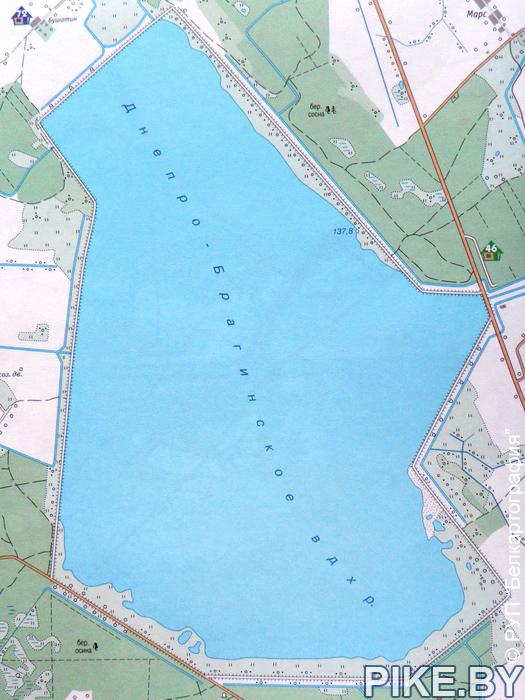 Карта, рыбалка