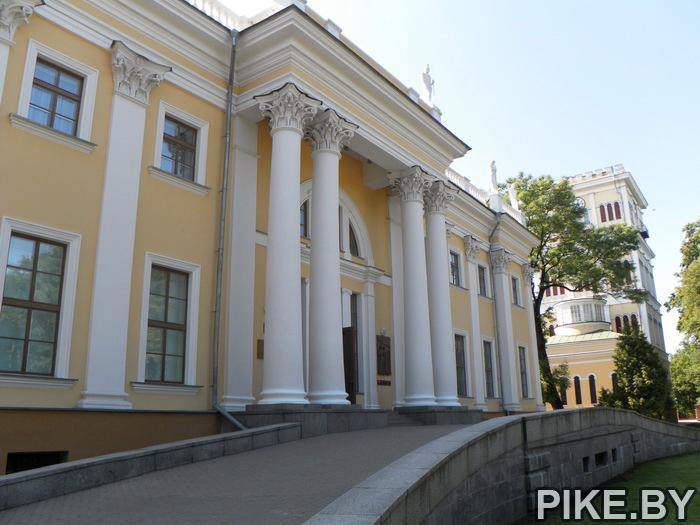 гомель дворец паскевичей