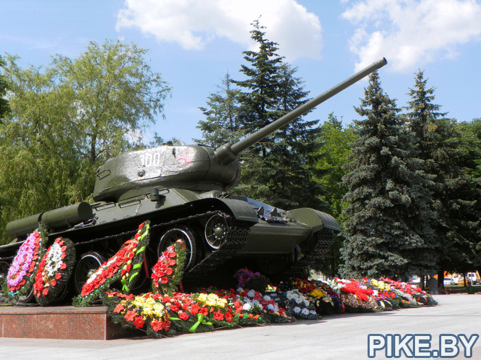 Бобруйск памятник танк