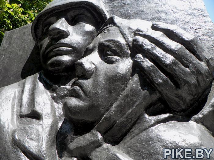 Памятник ополченцам