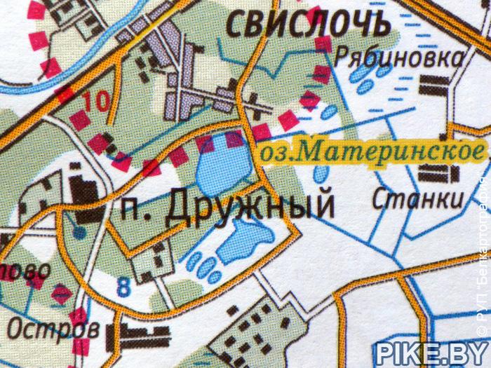 Минская ТЭЦ-5 карта