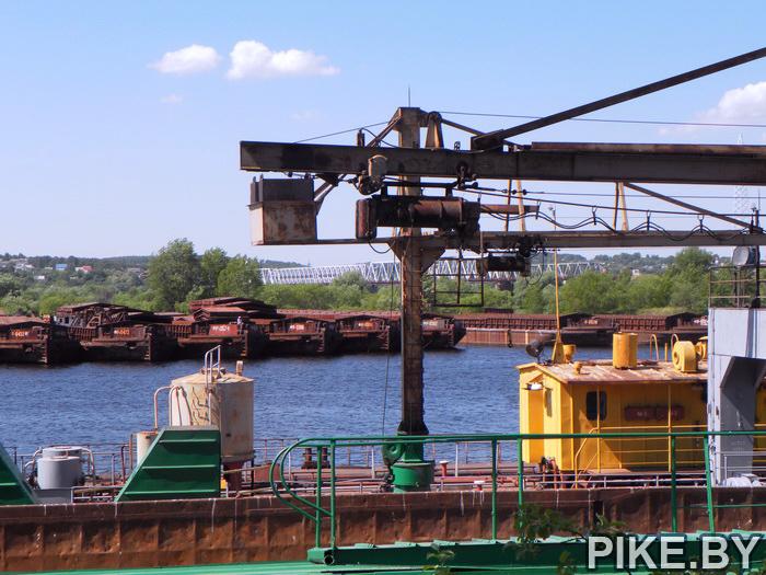 Порт на Припяти Мозырь