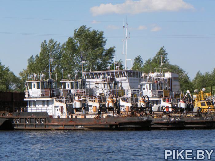 речной порт Мозырь