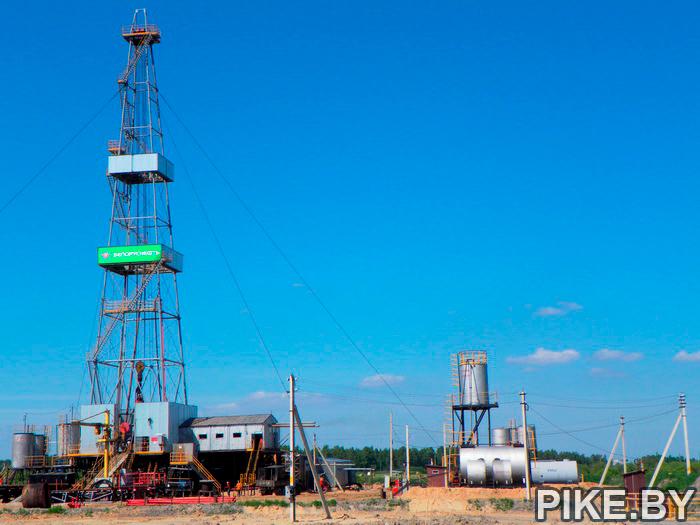 буровая вышка нефть