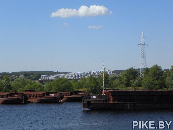 Порт в мозыре на Припяти