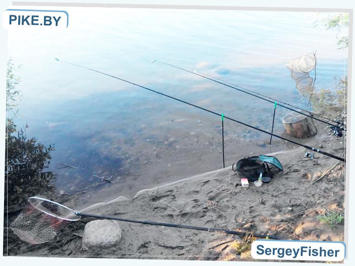 рыбалка на Заславском водохранилище
