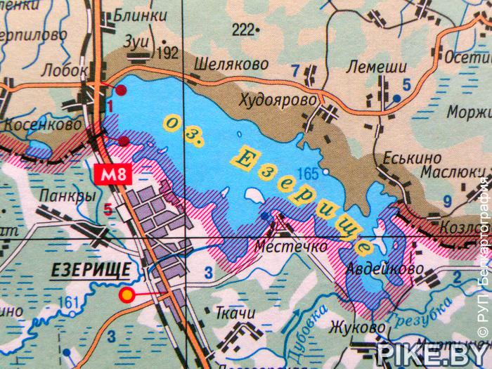 Озеро езерище рыбалка