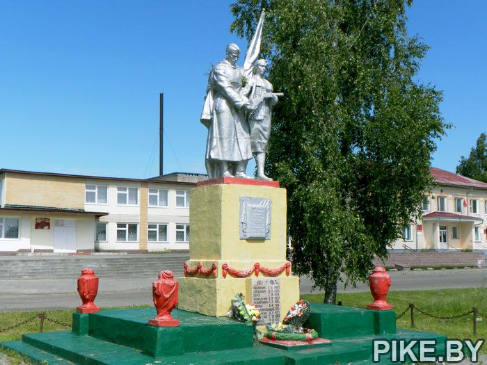 Жупраны памятник героям ВОВ