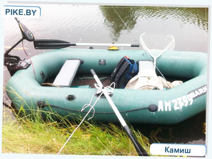 рыбалка на Сергеевском