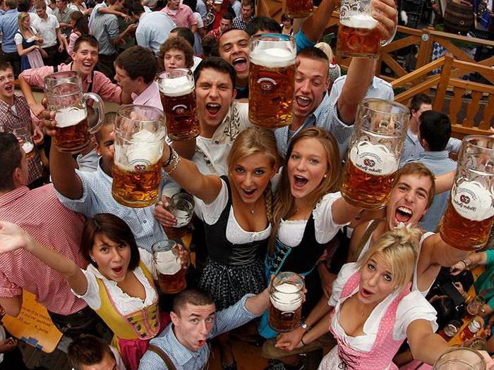 Мюнхен, пиво