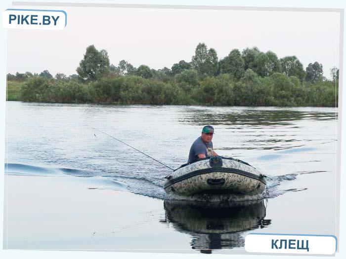 рыбалка на реке Припять