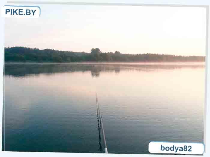 рыбалка на водохранилище Криница