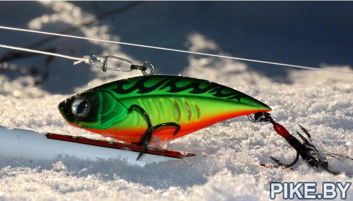 Ловля щуки зимой на спиннинг