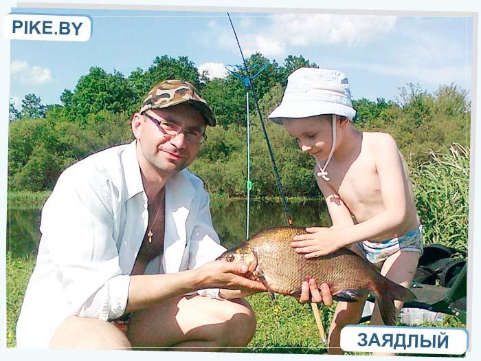 рыбалка на Восточной Березине