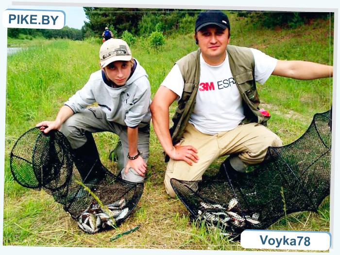 рыбалка на вилейском канале