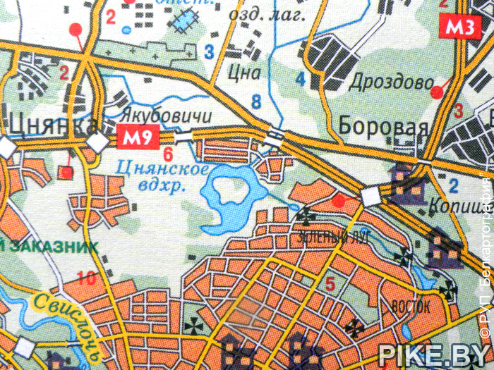 Цнянское водохранилище Минск