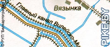 Канал Вилейско-Минской водной системы