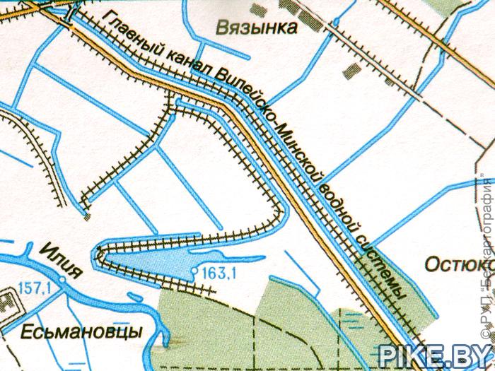 Главный канал Вилейско-Минской водной системы