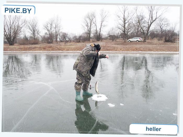 Рыбалка на Днепре ЗИМОЙ