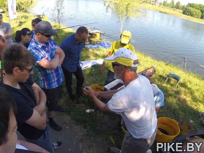 мастер-класс по ловле рыбы