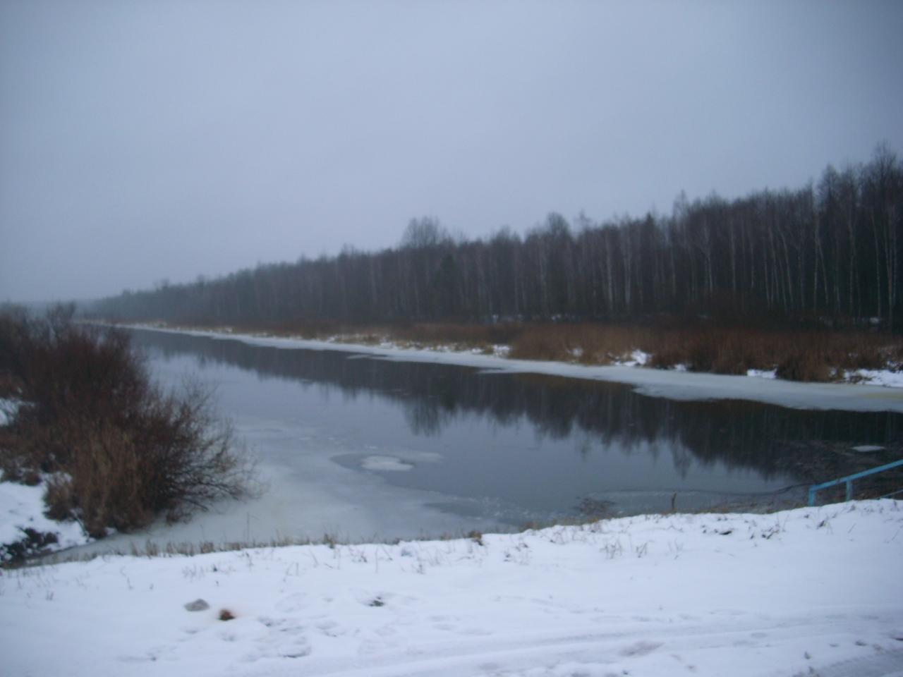 Только что приехал со Слободы. Утром проезжая канал ... | Отчеты о рыбалке в Беларуси