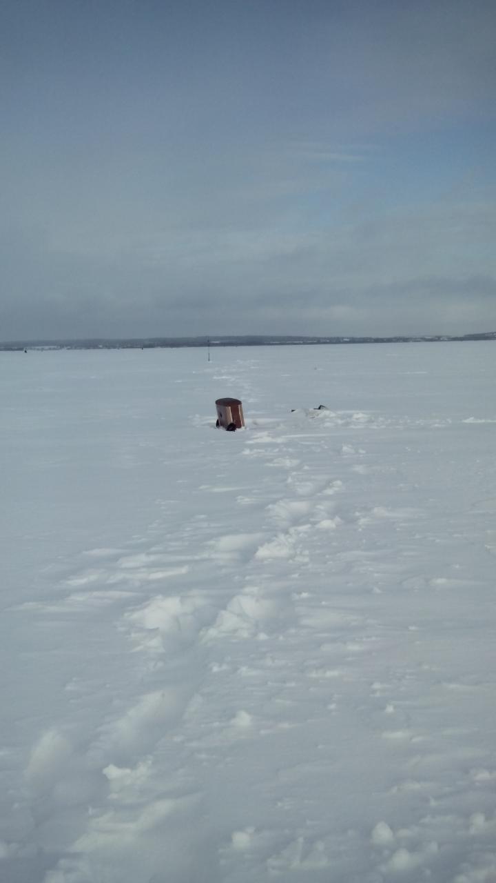 Не смотря на плохие погодные условия, снегу немеряно ...   Отчеты о рыбалке в Беларуси