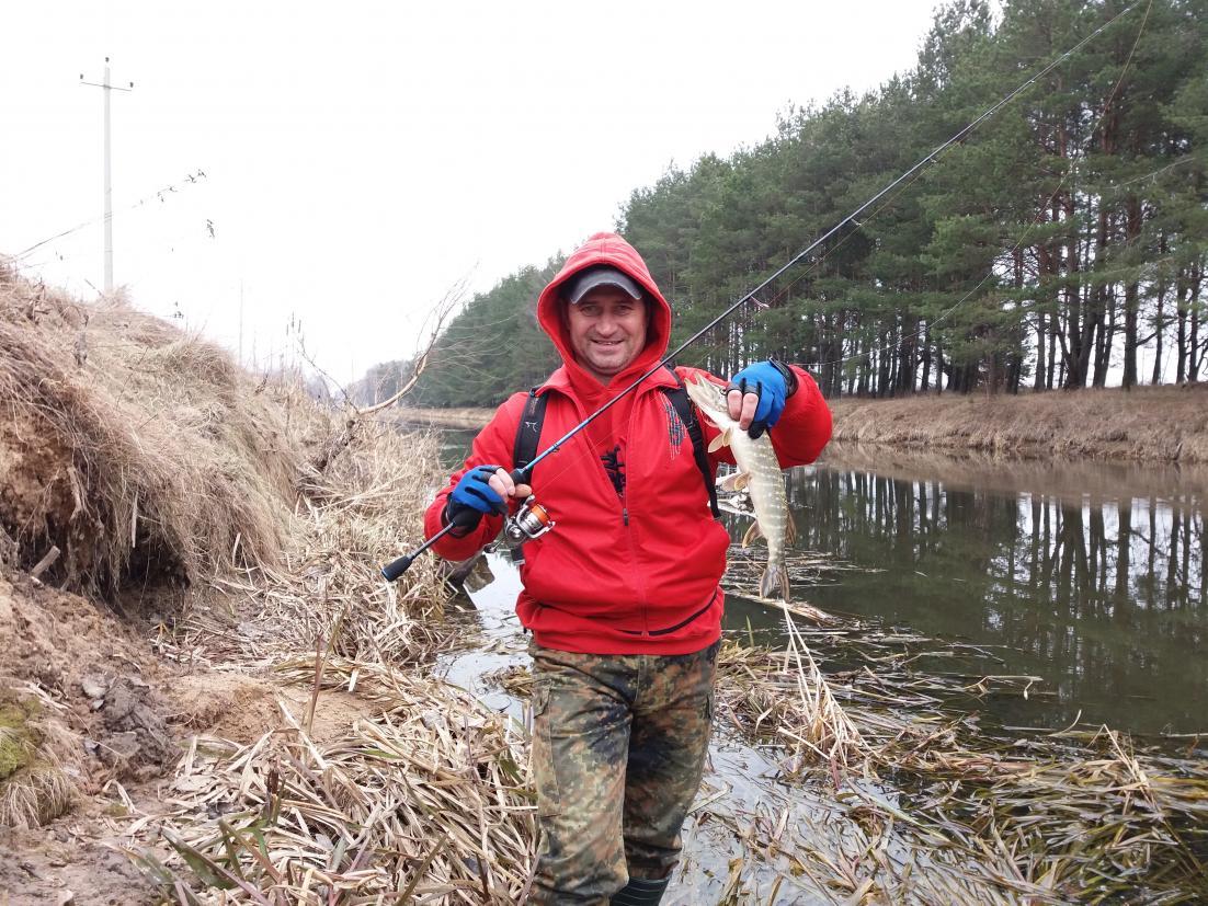 Очередная вчерашняя вылозка на обводной канал с Блюбёрдом ...   Отчеты о рыбалке в Беларуси