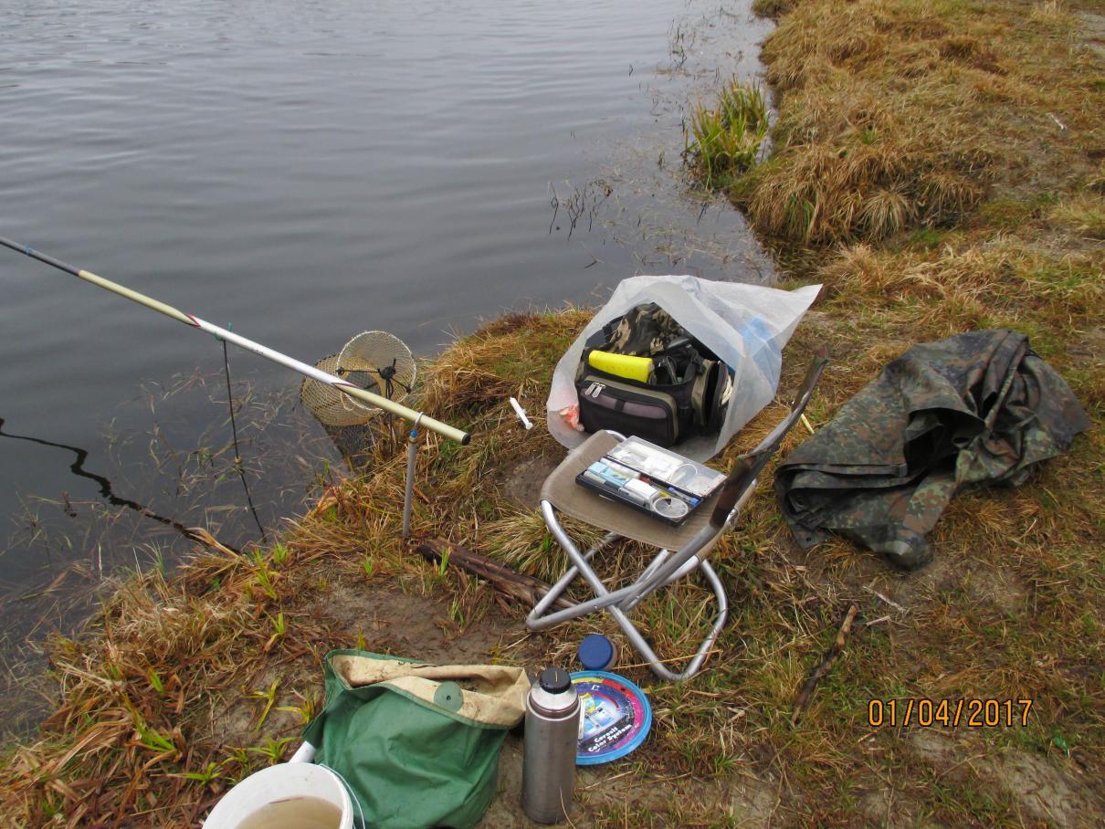 Вчера волею обстоятельств вынужден был рыбачить в одиночестве ... | Отчеты о рыбалке в Беларуси
