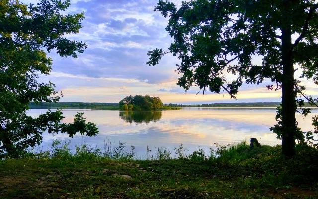 С четверга на пятницу впервые посещал данный водоем ... | Отчеты о рыбалке в Беларуси