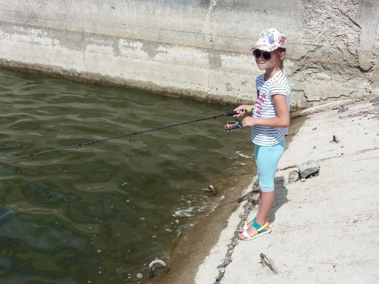 Выбрался вчера с дочей и напарником по работе ... | Отчеты о рыбалке в Беларуси