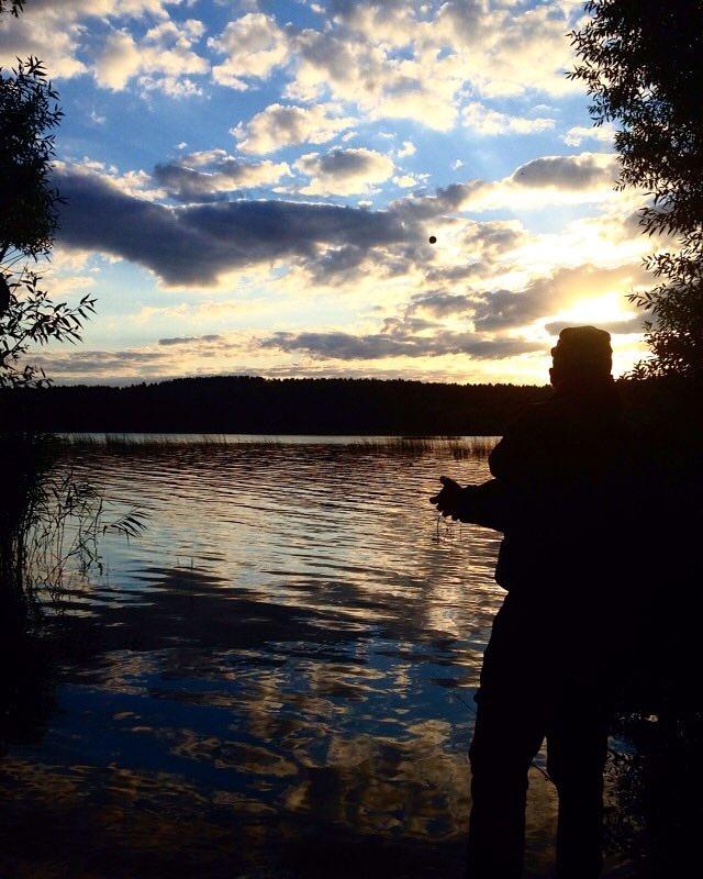 Вчера вечером выехал на 1.5 часа на разведку ... | Отчеты о рыбалке в Беларуси