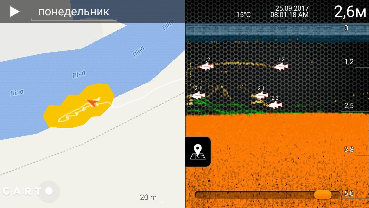 Deeper Smart Sonar PRO+ поиск рыбы | Отчеты о рыбалке в Беларуси