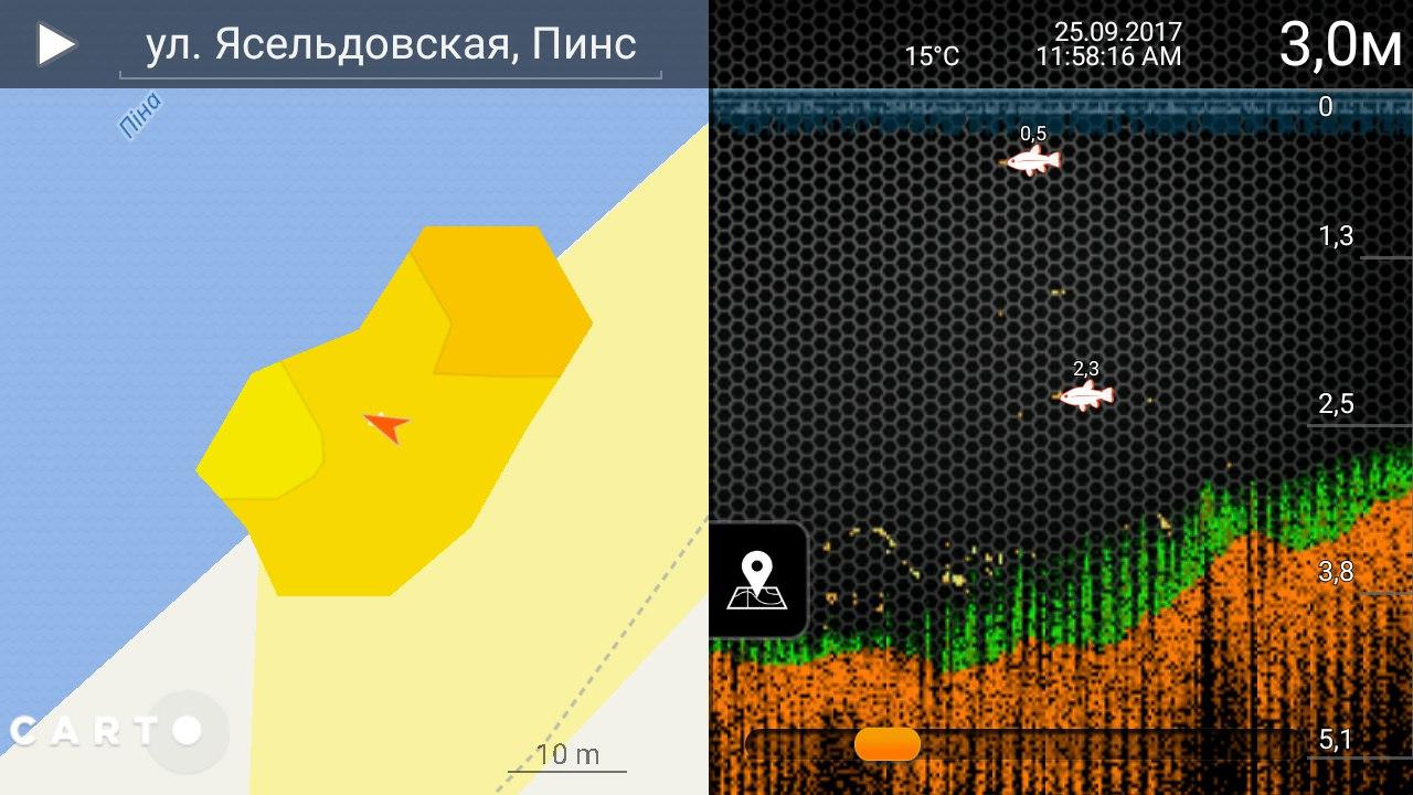 Deeper Smart Sonar PRO+ беспроводной эхолот | Отчеты о рыбалке в Беларуси