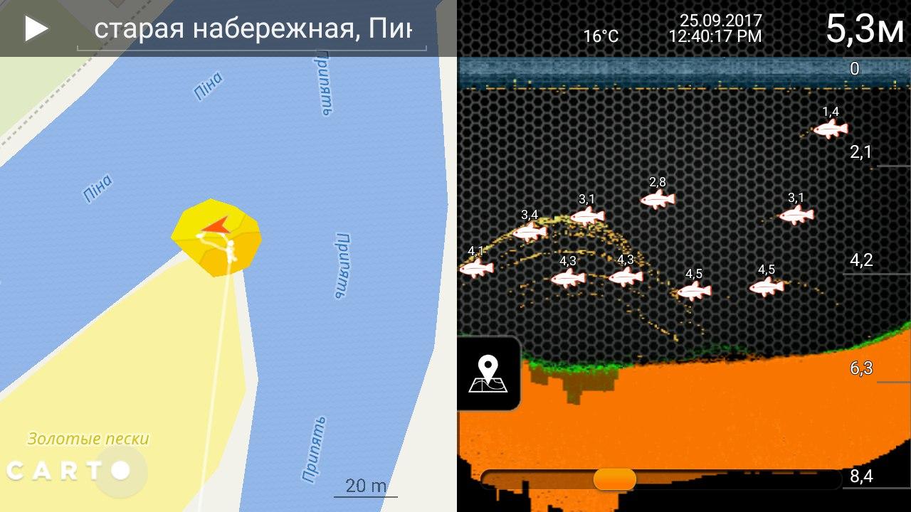 Дипер PRO+ беспроводной эхолот | Отчеты о рыбалке в Беларуси