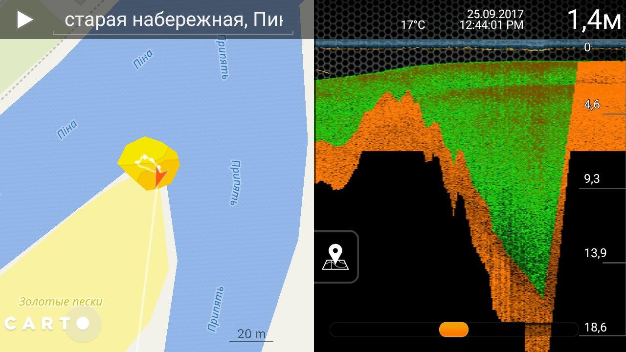 Беспроводной эхолот Deeper PRO+  | Отчеты о рыбалке в Беларуси