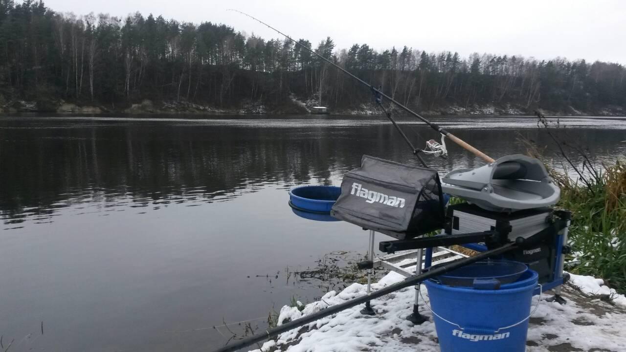 Зимний Фидер на Немане ... | Отчеты о рыбалке в Беларуси