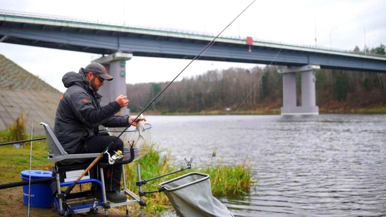 рыбалка на разливах немана