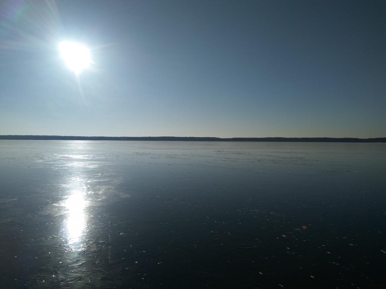 Был 16-17 января. Русло. Толщина льда 10-12 см.Две ... | Отчеты о рыбалке в Беларуси