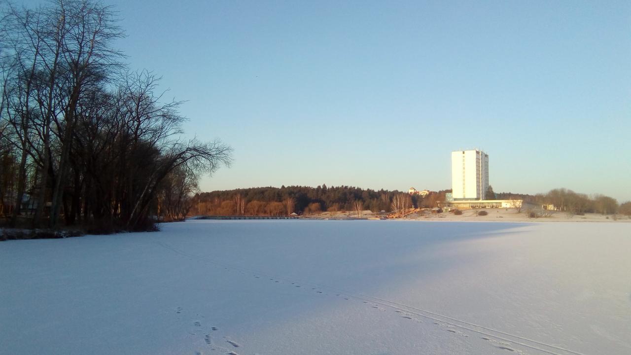 Сегодня был на Юности. Ехал с Пушкинской на ... | Отчеты о рыбалке в Беларуси