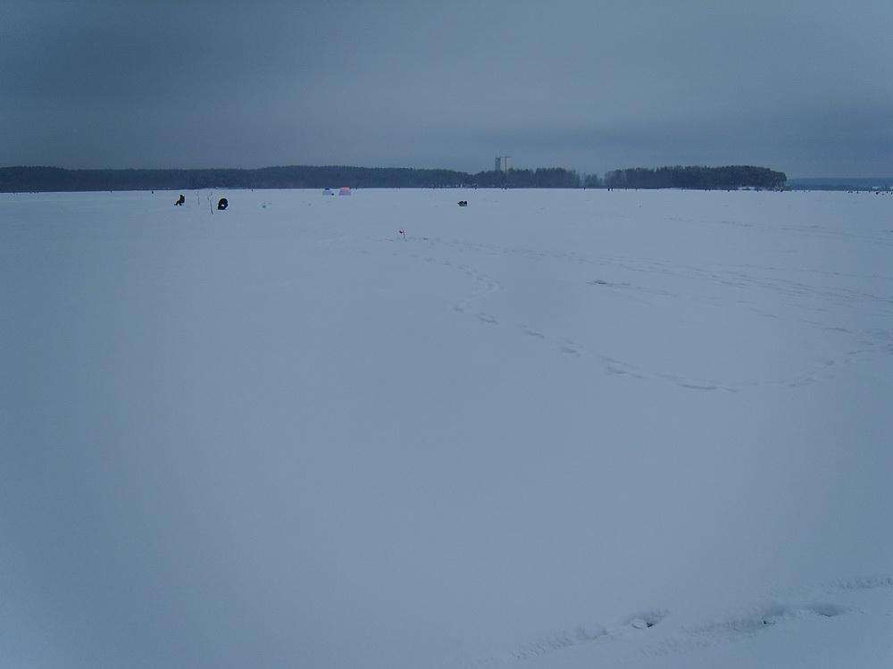Вчера также открыл зимний сезон. Ловил на черта ... | Отчеты о рыбалке в Беларуси