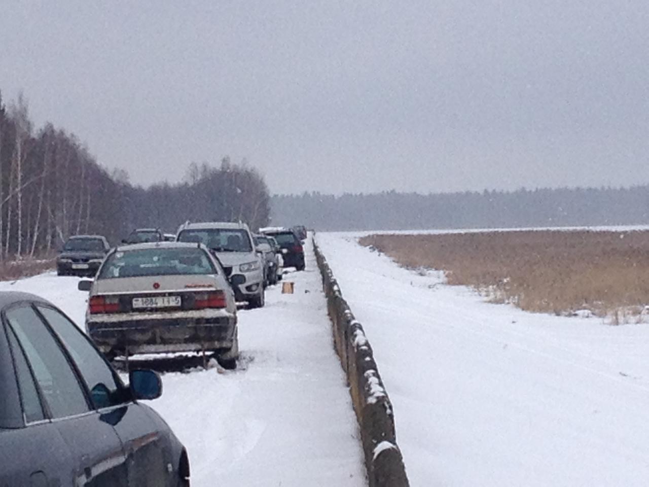 Вчера тоже был с 8-30 до 12. Народу ...   Отчеты о рыбалке в Беларуси