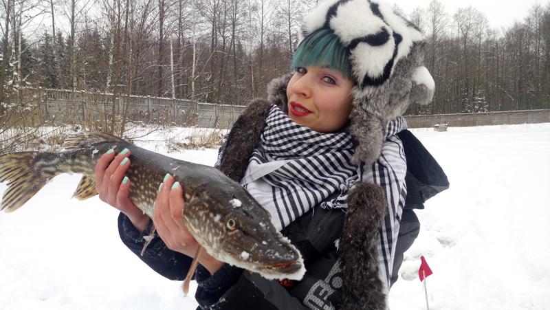 Платник Лесное озеро - трофейная щука в глухозимье... | Отчеты о рыбалке в Беларуси